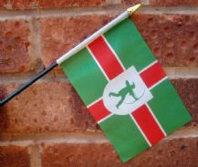 HAND WAVING FLAG (SMALL) - Nottinghamshire